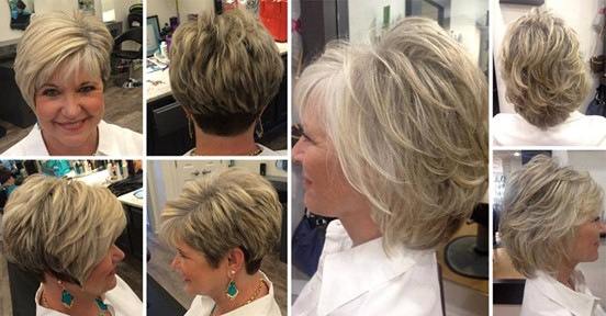 90 Classy and Very Simple Short Hairstyles That Are Suitable for Women Above 50